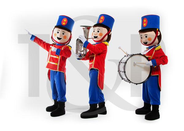 trois petits soldats, animation enfants cote d'azur, artistes enfants cote d'azur, mascottes cote d'azur, anniversaire enfants cote d'azur, soldats danseurs, mascottes anniversaire enfants